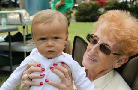 Image of VBS celebrated three generations at play this year for our party in the park! Isn't Westminster great?