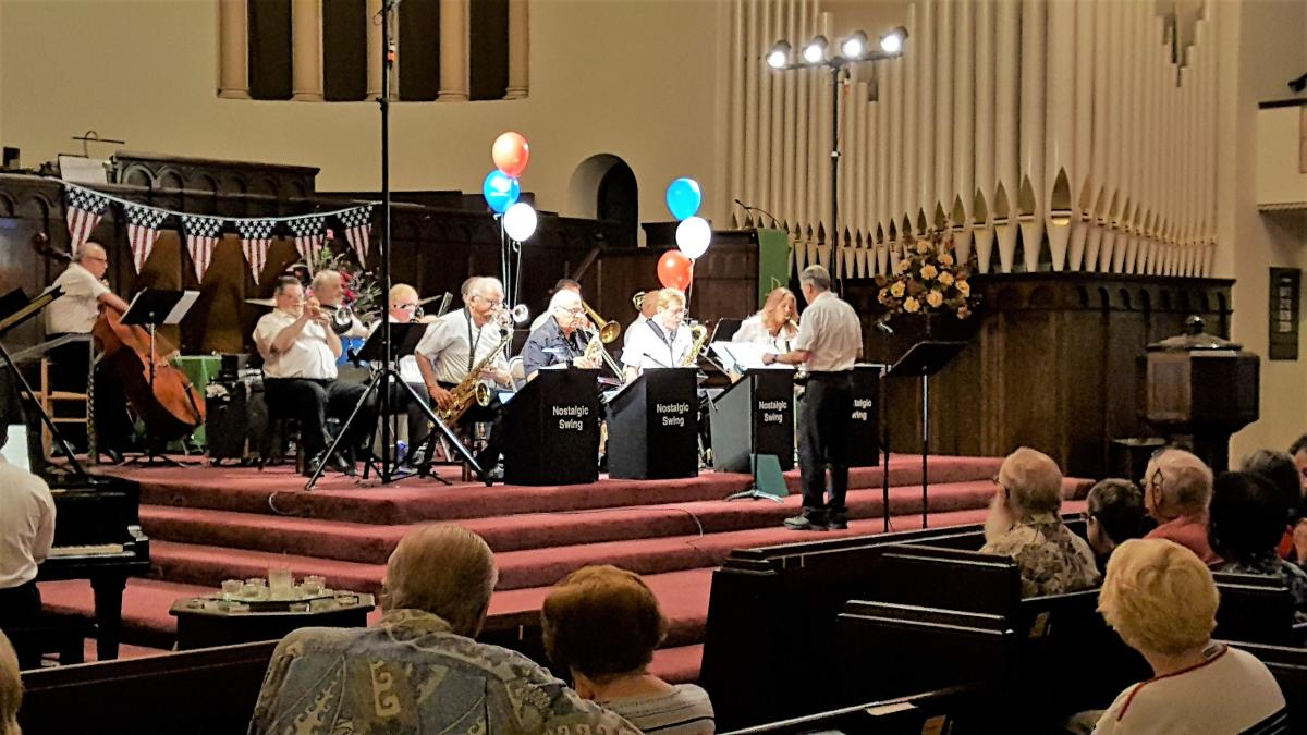 Our 4th of July Music at Noon concert featured the Nostalgic