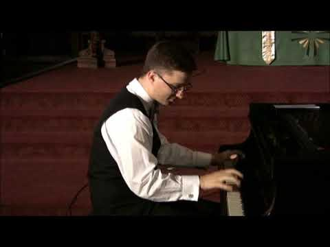 Virtuoso Old-Time Piano Player Adam Swanson Plays St. Louis Blues