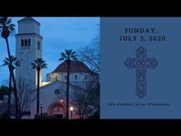 July 5, 2020 service