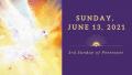 Sunday, July 13, 2021